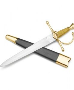 Medieval 17TH Century Swept Hilt Dagger