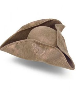 Colonial And Pirate Tri-Corner Hat