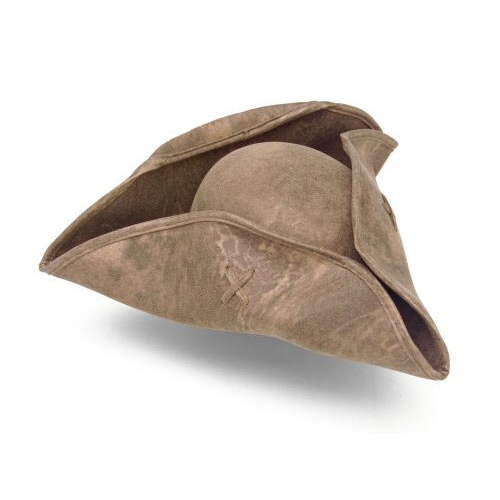 Colonial And Pirate Tri-Corner Hat 1