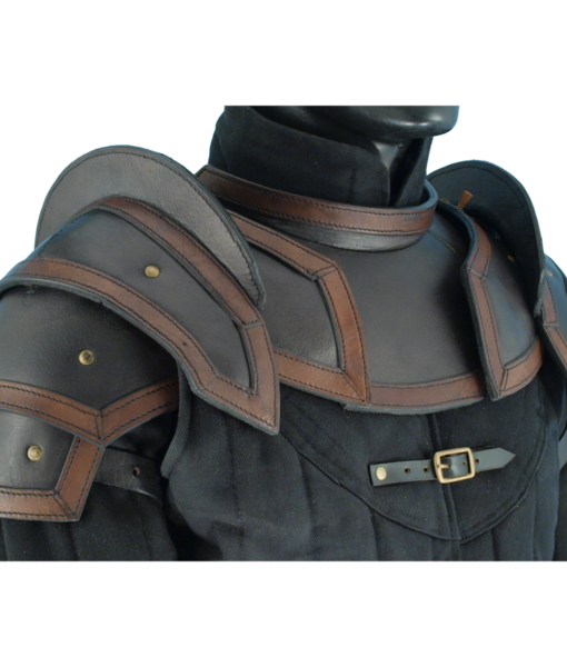 Shoulder Armour with Neck Guard 1