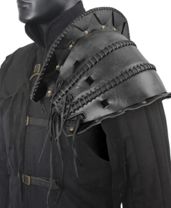 Orc's Leather Pauldron