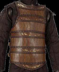 Celtic Lamellar Leather Armour