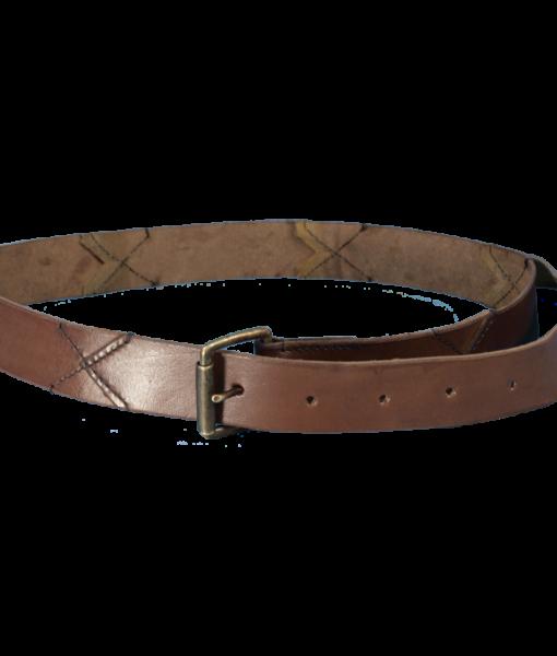 Leather X Belt 1