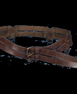 Leather Twin Belt