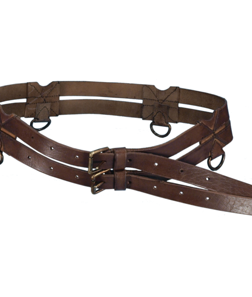 Leather Twin Belt 1