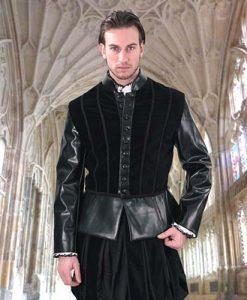 Duke of Suffolk Faux Leather Doublet