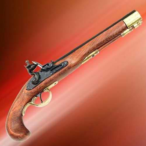 Military Flintlock Pistol 1