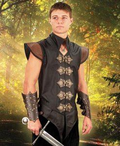 Swordsman's Leather Vest