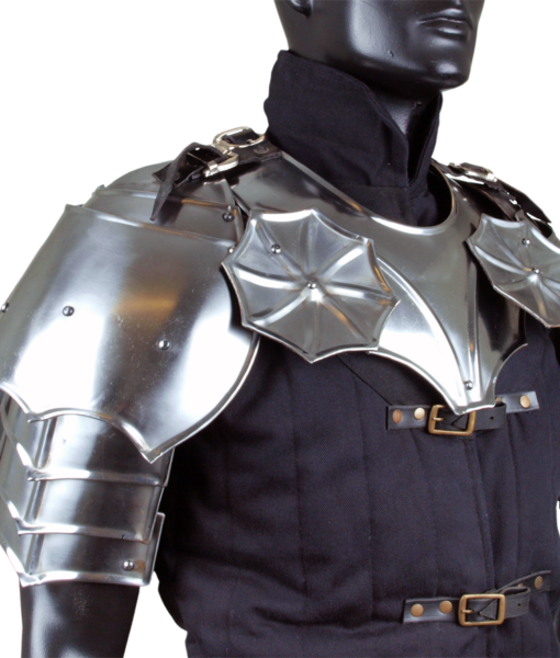 Gothic Gorget with Pauldrons 1