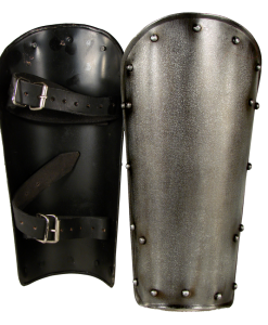Dark Warrior Steel Greaves