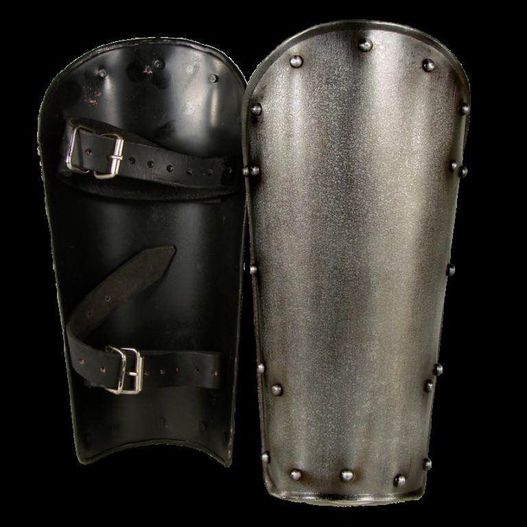 Dark Warrior Steel Greaves 1
