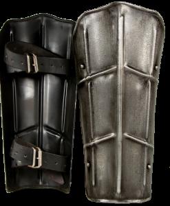 Dark Drake Steel Greaves
