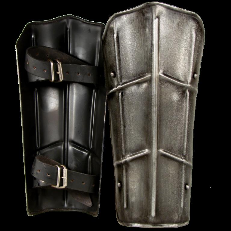Dark Drake Steel Greaves 1