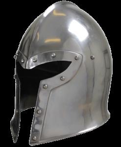 Steel Barbuta Helmet