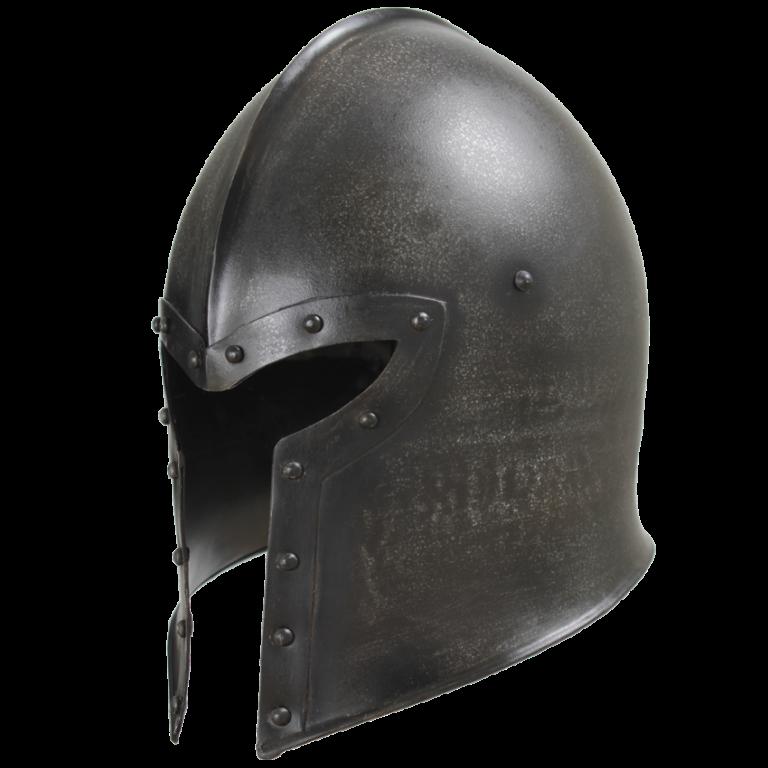 Epic Dark Barbuta Helmet 1