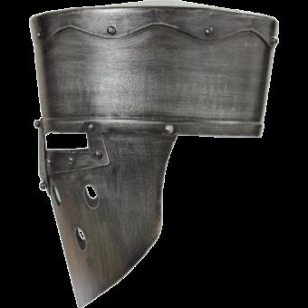 Crusader Helmet – Dark Metal Finish 3