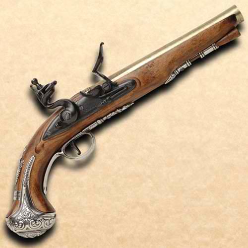 George Washington Flintlock Pistol 1