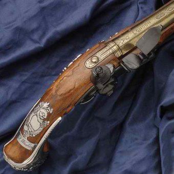 George Washington Flintlock Pistol 2