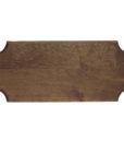Replica Pistol/Dagger Display Frame 18x7 Dark Wood