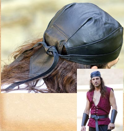 Leather Headwrap 1