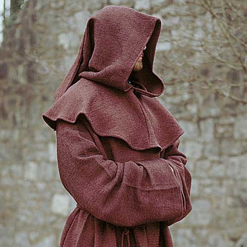 Monk Robe and Hood 1
