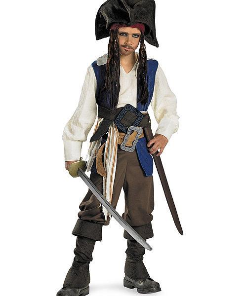 Captain Jack Sparrow Child Costume 1
