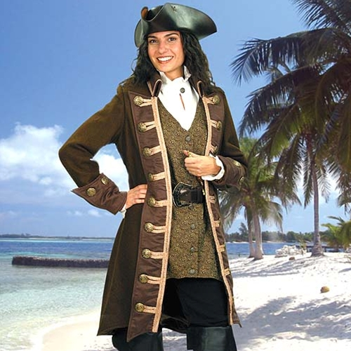 Mary Read Pirate Coat 1