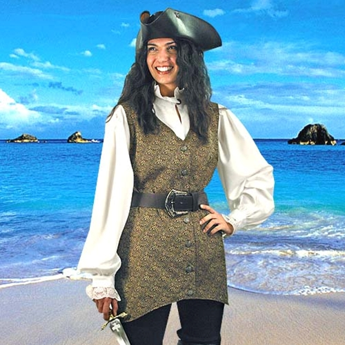 Mary Read Pirate Vest 1