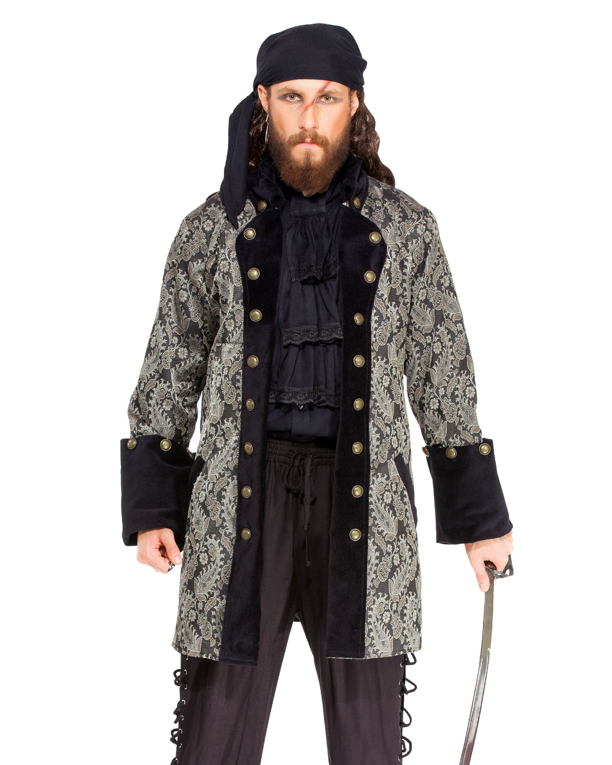 Mens Pirate Coats and Pirate Vests  Leather Armor