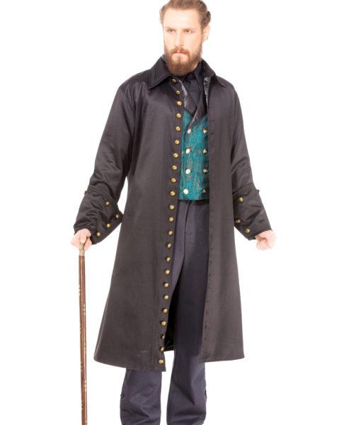 Black Vampire Coat 1