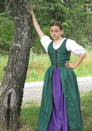 Child Irish Dress 1