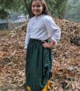Girls Double-Layer Skirt