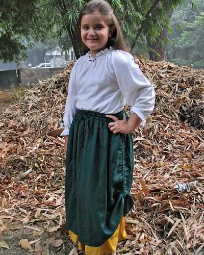 Girls Double-Layer Skirt 1