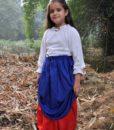 Girls Double-Layer Skirt 4
