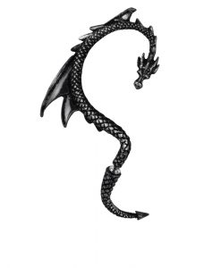 The Black Dragon's Lure Ear Wrap