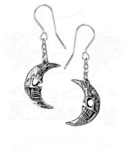 M'era Luna Crescens - Tragicom Moon Earrings