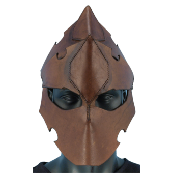 Assasins Leather Helmet 2