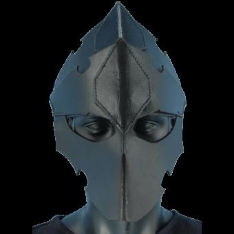 Assasins Leather Helmet 3