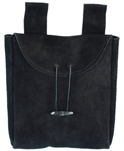 Suede Pouch - Large
