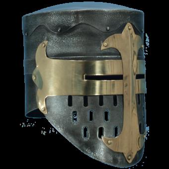 Dark Metal Knight Helmet