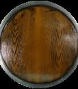Round Wooden LARP Shield