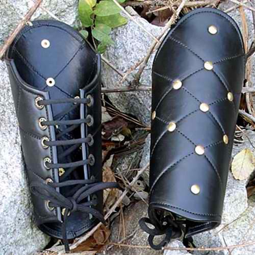 Leather Vambraces 1