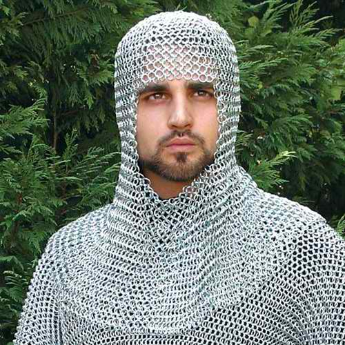 Mail Armor Coif 1
