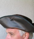 Jack Sparrow Leather Pirate Hat