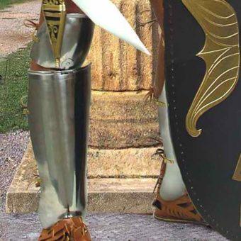 Steel Roman Greaves 2