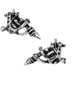 Tattoo Gun Earrings