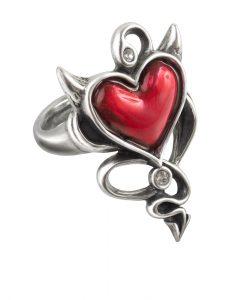 Devil Heart Ring