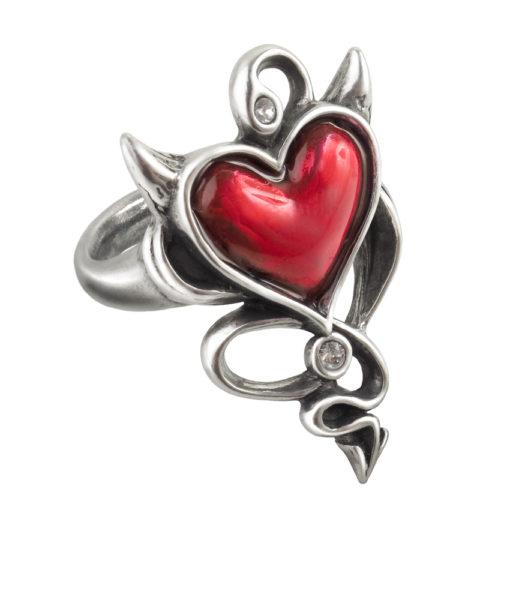 Devil Heart Ring 1