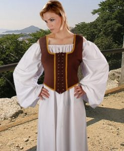 Wench Bodice Decorated Reversible
