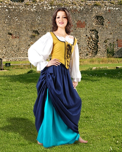 Double-Layer Medieval Skirt 1